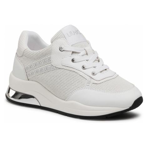 Sneakersy LIU JO - Karlie 8 4A1731 EX083 White 01111