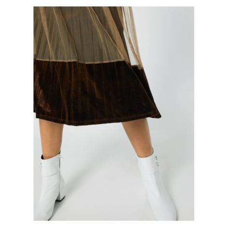 Anna Field Spódnica brązowy / oliwkowy