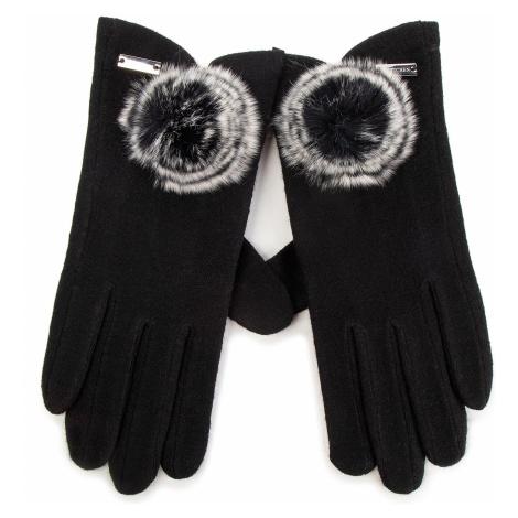 Rękawiczki Damskie WITTCHEN - 47-6-101-1 Czarny