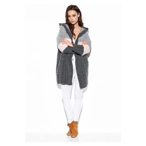 Lemoniade Woman's Sweater LS288 Dark Grey/Light Grey