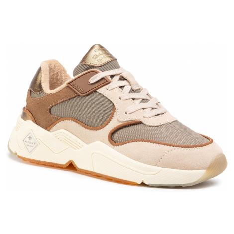 Sneakersy GANT - Nicewill 21533868 Beige/Cognac G104