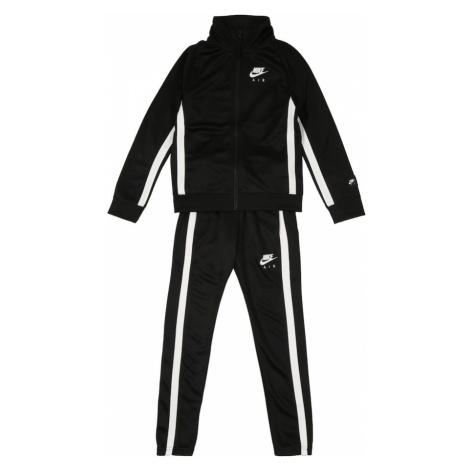 Nike Sportswear Strój do biegania 'B NIKE AIR TRK SUIT' czarny