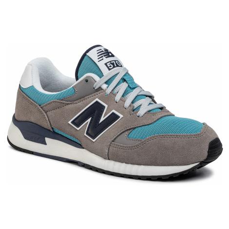 Sneakersy NEW BALANCE - ML570BND Szary