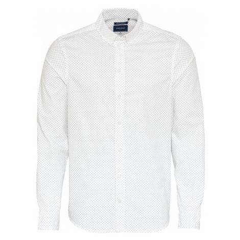 BLEND Koszula biały / atramentowy