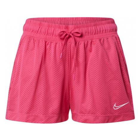 NIKE Spodnie sportowe różowy