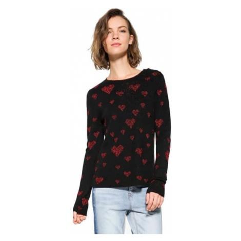 Desigual Panie sweter jers África 17WWJFD2 2000