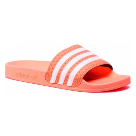 Adidas Klapki adilette W EG5008 Pomarańczowy