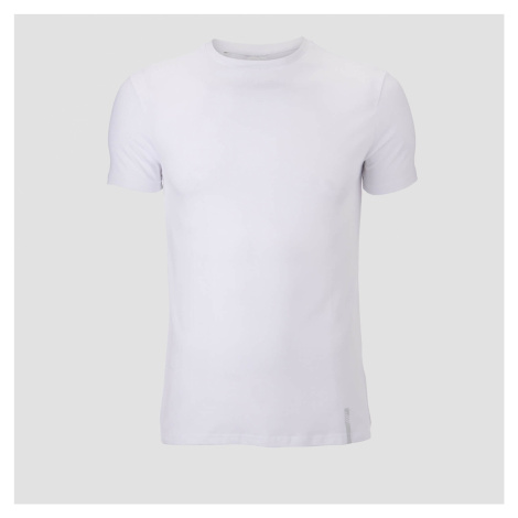 2-Pak Klasycznych Koszulek Luxe - Biała/Biała