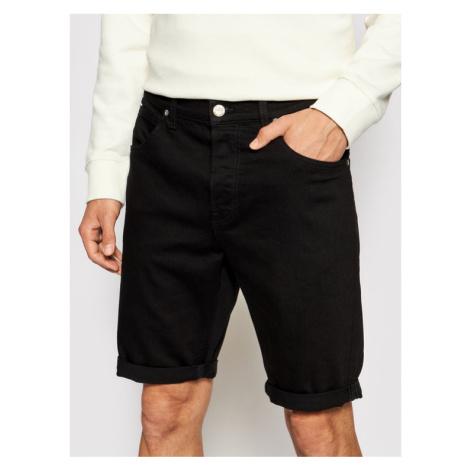 Lee Szorty jeansowe 5 Pocket L73EHFAE Czarny Regular Fit