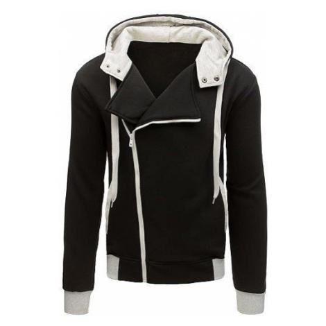 Men's black zip hoodie BX3696 DStreet