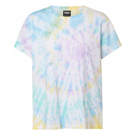 Urban Classics Koszulka 'Ladies Tie Dye Boyfriend Tee' mieszane kolory