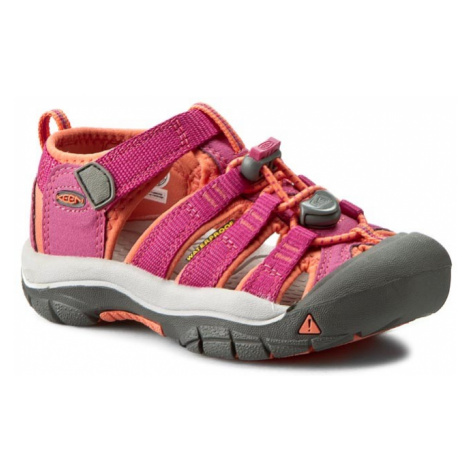 Sandały KEEN - Newport H2 1014251 Verry Berry/Fusion Coral