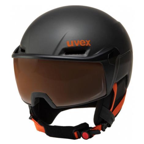 Uvex Kask narciarski Hlmt 700 Visor 5662376003 Czarny