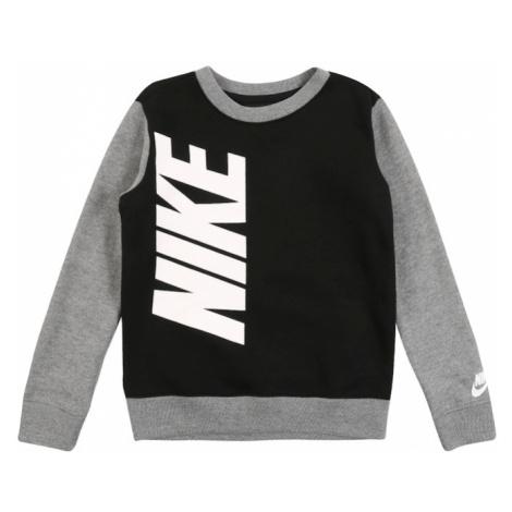 Nike Sportswear Koszulka czarny / szary