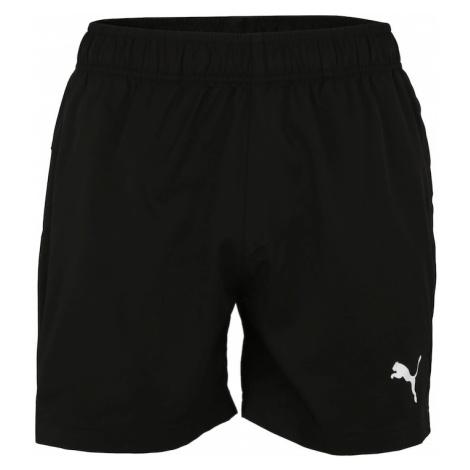 PUMA Spodnie sportowe 'Active' biały / czarny