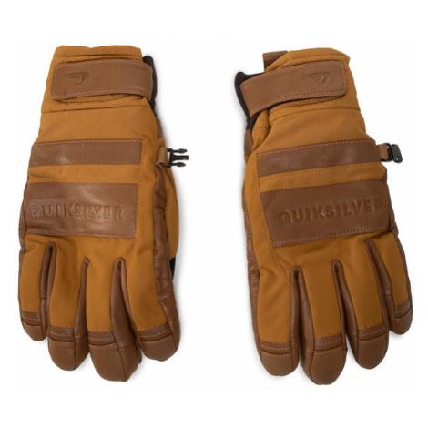 Quiksilver Rękawiczki Męskie EQYHN03135 Brązowy