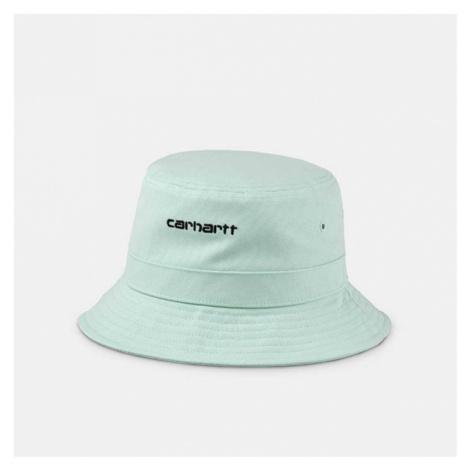 Kapelusz Carhartt WIP Script Bucket Hat I026217 FROSTED GREEN/BLACK