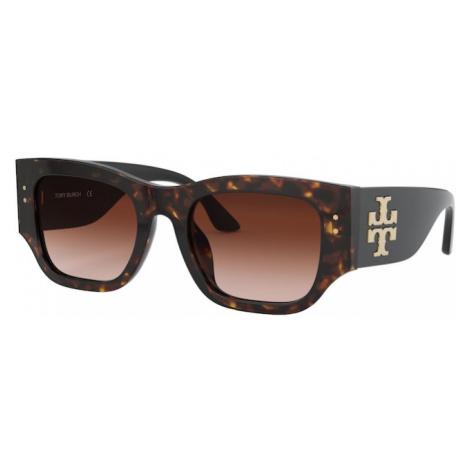 Tory Burch Okulary przeciwsłoneczne jasnobrązowy / ciemnobrązowy