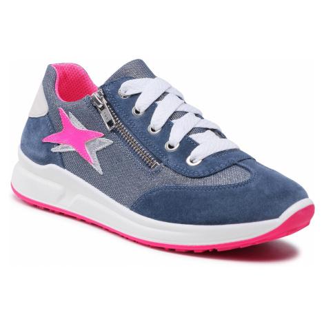 Sneakersy SUPERFIT - 1-006155-8000 D Blau/Rosa