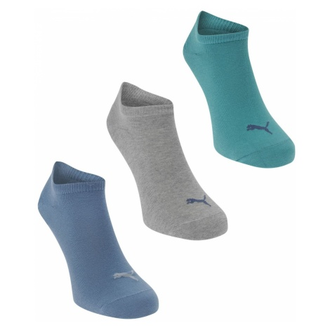 Puma Pack of 3 Sneaker Socks Mens