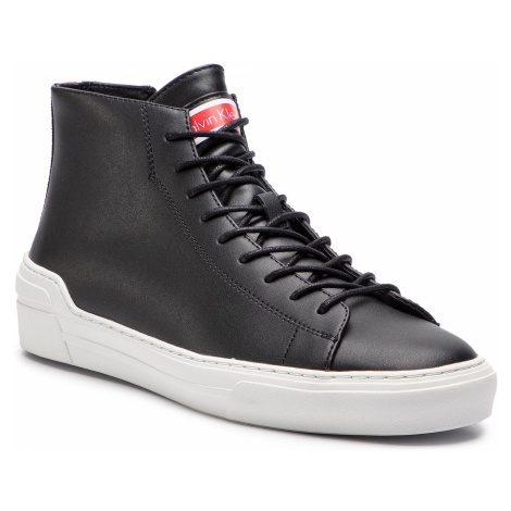 Sneakersy CALVIN KLEIN - Okey F0996 Black/White/Cherry