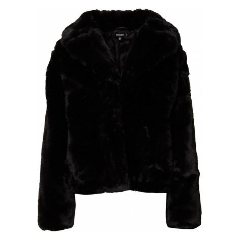 Missguided Płaszcz zimowy czarny