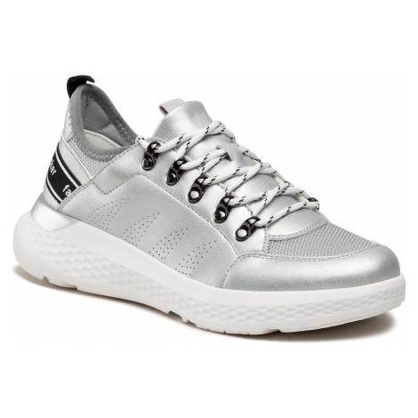 Sneakersy RIEKER - 48553-90 Silber/Platin