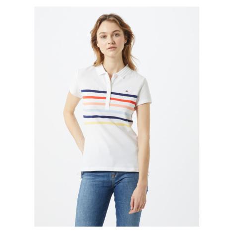 TOMMY HILFIGER Koszulka 'Alex' jasnożółty / biały / granatowy / jasnoniebieski / pomarańczowy