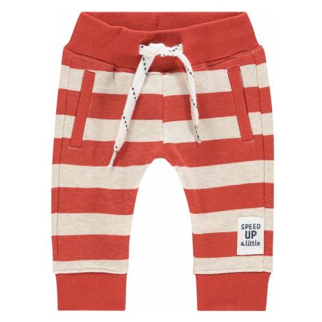 Noppies Spodnie 'Arroyo Grande' offwhite / pomarańczowo-czerwony