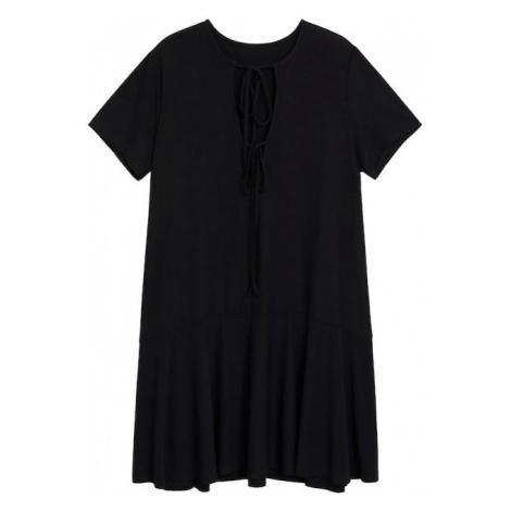 VIOLETA by Mango Letnia sukienka 'Peak' czarny