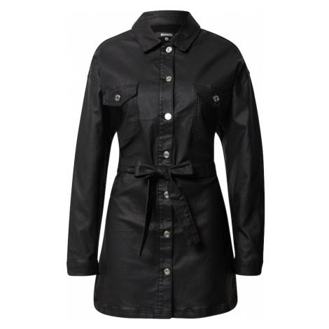 Missguided Sukienka koszulowa czarny