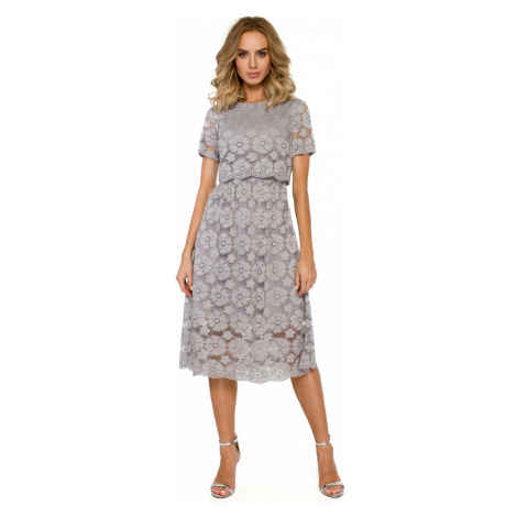 Women's dress Made Of Emotion Lace detailed