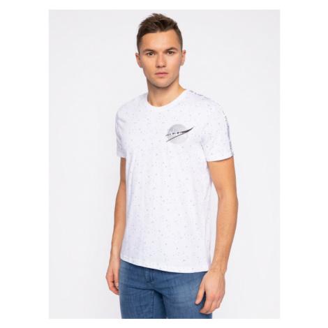 Alpha Industries T-Shirt Nasa Tape T 196506 Biały Regular Fit