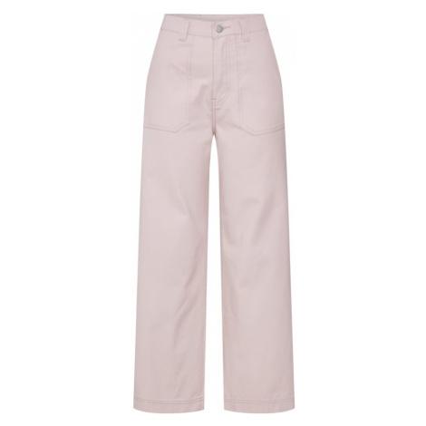 Dr. Denim Spodnie 'Tuva Worker Pants' różowy pudrowy