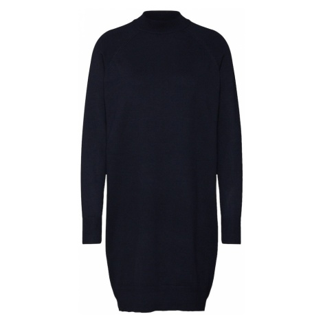 ONLY Sukienka z dzianiny 'onlLAURA HIGHNECK DRESS CC KNT' niebieska noc
