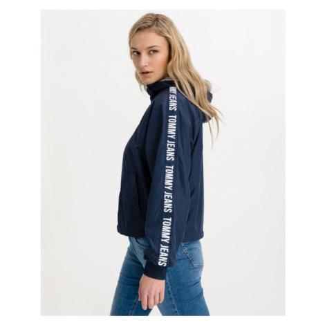 Tommy Jeans Repeat Logo Tape Kurtka Niebieski Tommy Hilfiger
