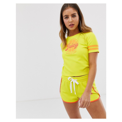 Juicy By Juicy logo cropped tee Juicy Couture