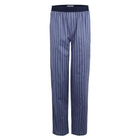 LACOSTE Spodnie od piżamy atramentowy / podpalany niebieski