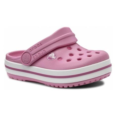 Klapki CROCS - Crocband Clog K 204537 Party Pink