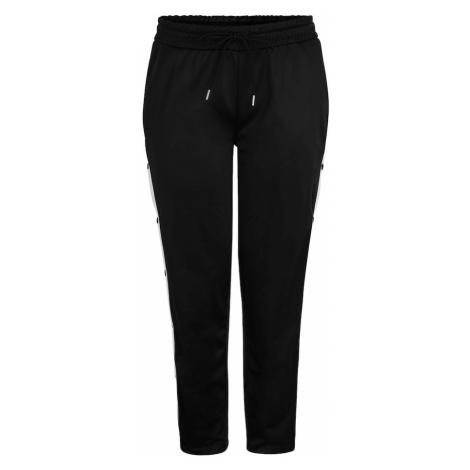 Urban Classics Curvy Spodnie biały / czarny