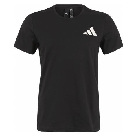 ADIDAS PERFORMANCE Koszulka funkcyjna 'THE PACK Q1 GFX' czarny