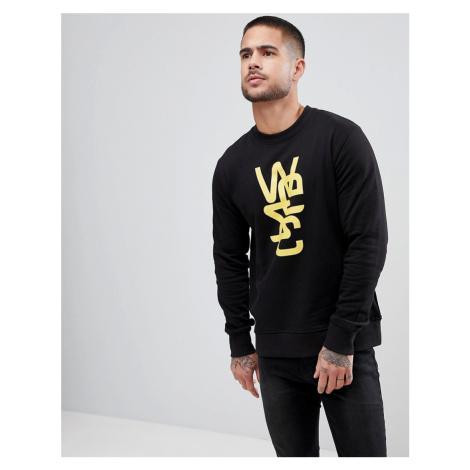 WeSC Overlay Crewneck Sweatshirt