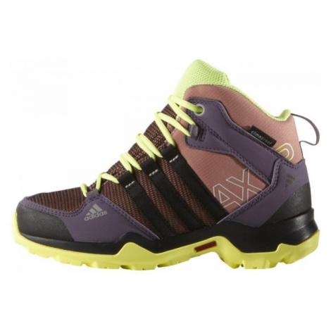 adidas AX2 MID CP K różowy 32 - Obuwie trekkingowe dziecięce