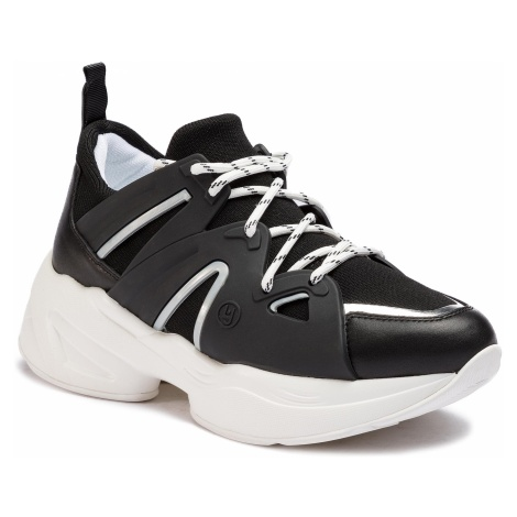Sneakersy LIU JO - Jog 07 B19037 TX038 Black 22222