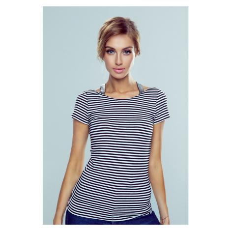 Eldar Woman's Camisole Meg Stripes White/Black
