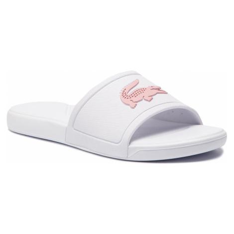 Klapki LACOSTE - L.30 Slide 119 2 Cuj 7-37CUJ00111Y9 White/Light Pink