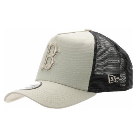 czapka z daszkiem New Era 9FO AF League Ess.Trucker MLB Boston Red Sox - Stone/Navy