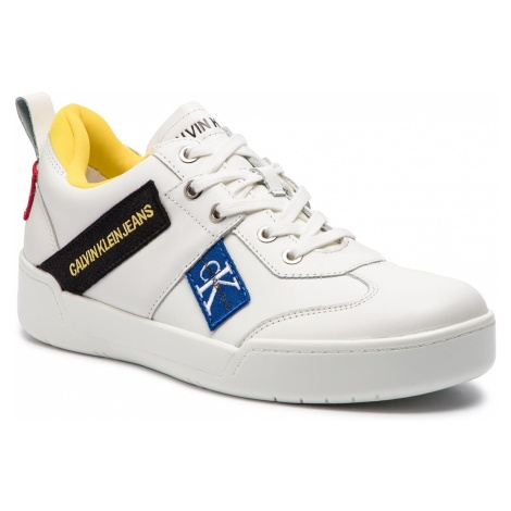 Sneakersy CALVIN KLEIN JEANS - Norm S0579 Bright White