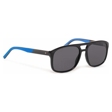 Okulary przeciwsłoneczne TOMMY HILFIGER - 1603/S Black Blue 051