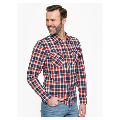 "Lee ""Clean Western Shirt"" Poppy Red"